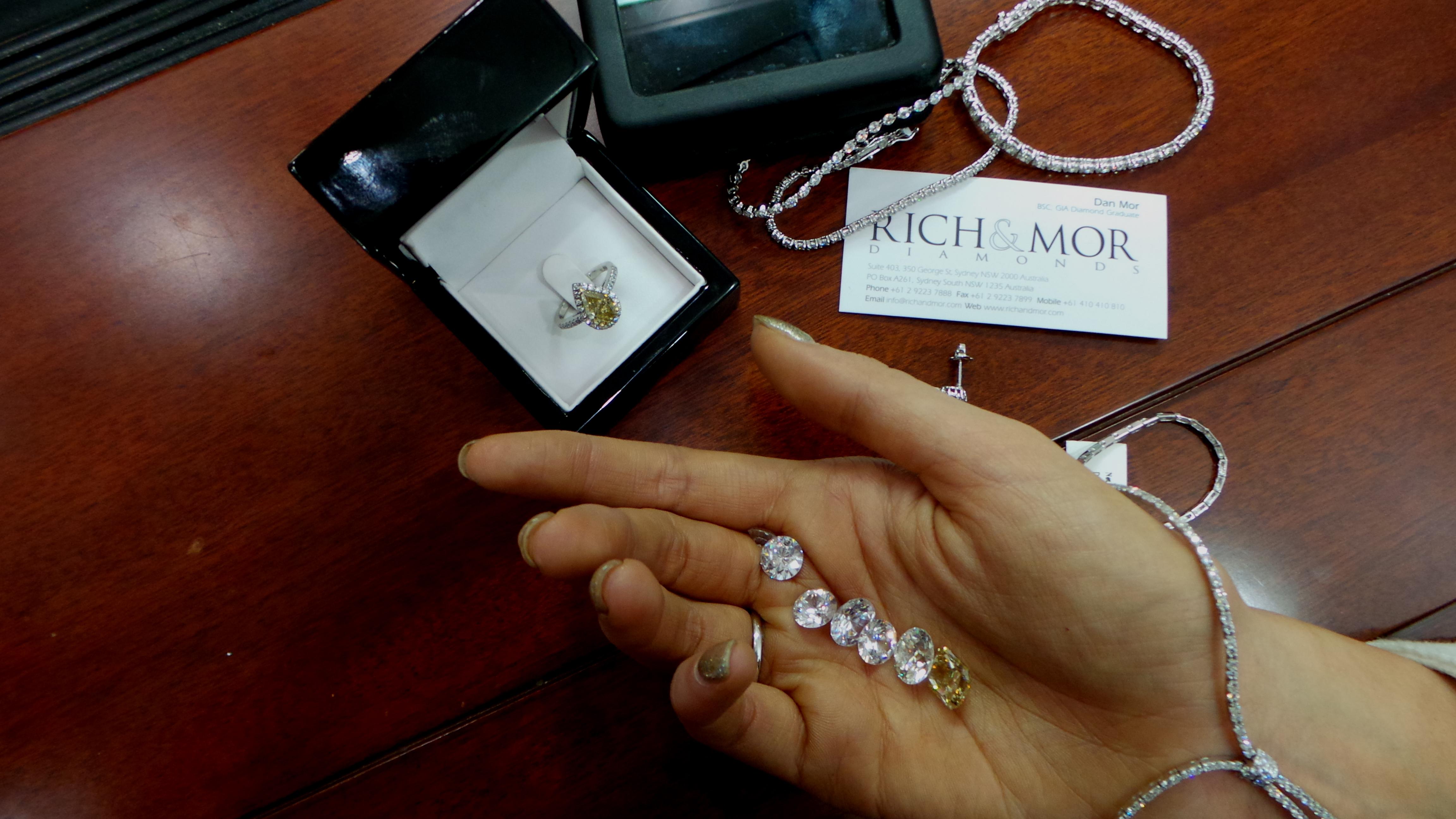 mixed diamonds