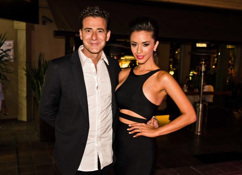 Hugos owner David Corsi, and Shiralee Coleman