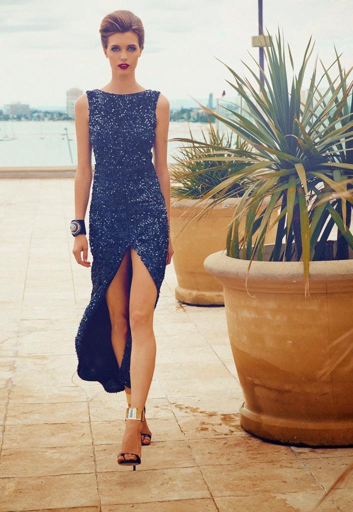 ISLA SEQUIN DRESS